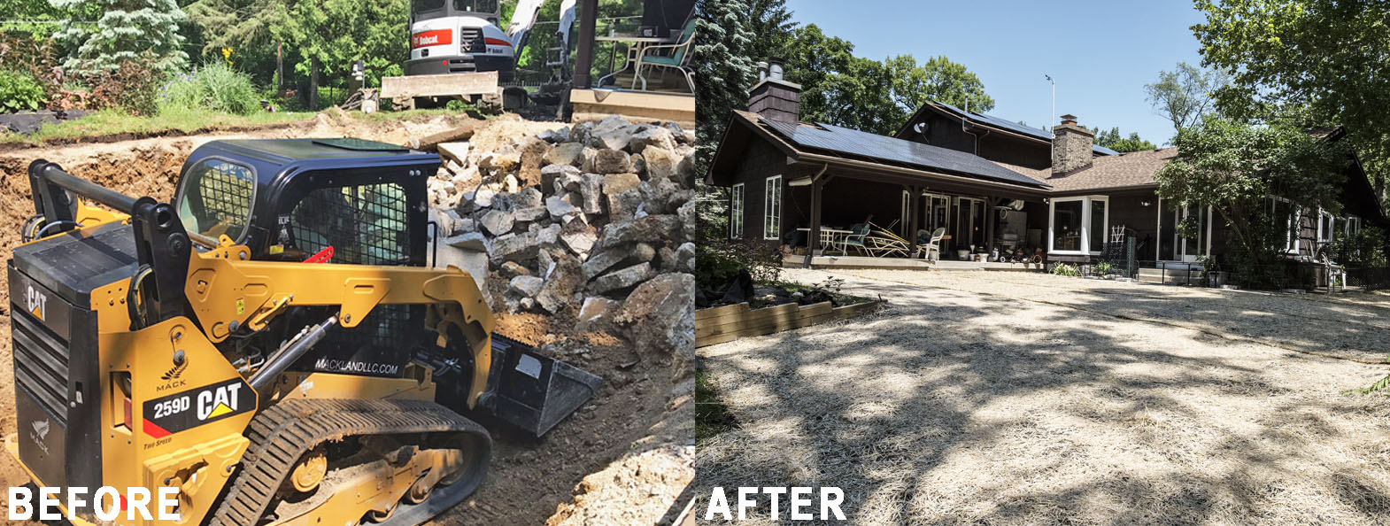 Mack Land LLC - West Chicago, IL Pool Removal