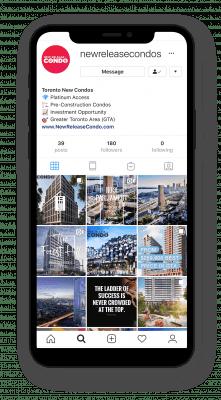 New Release Condo Instagram