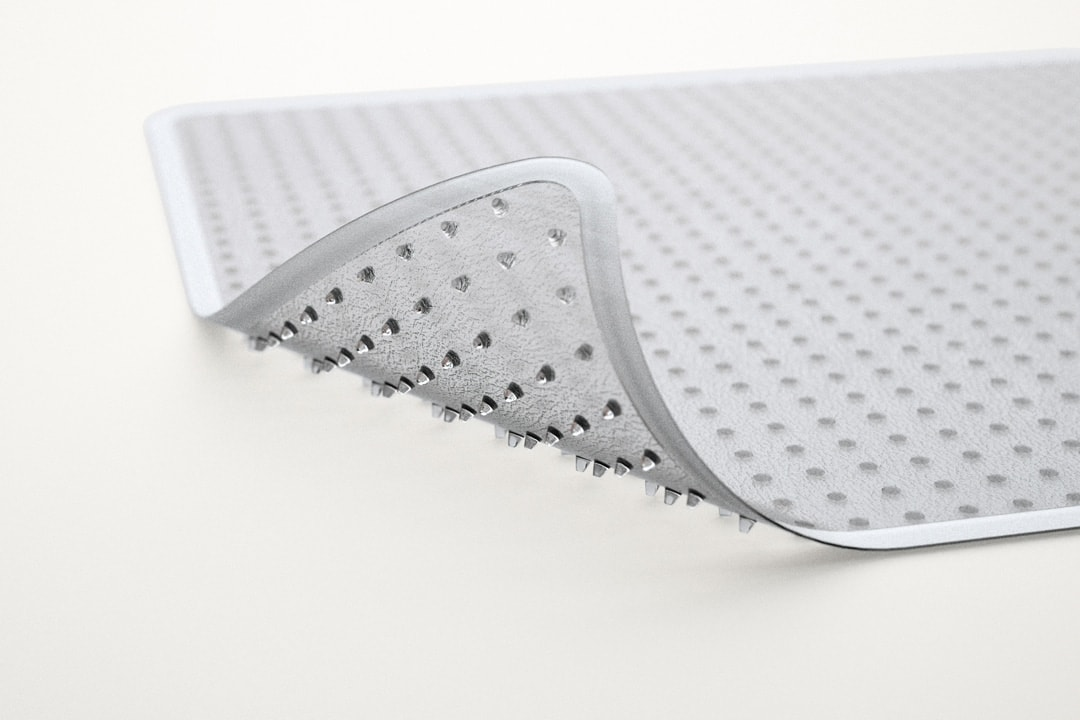 Chair Mat Frosted Edge Grippers