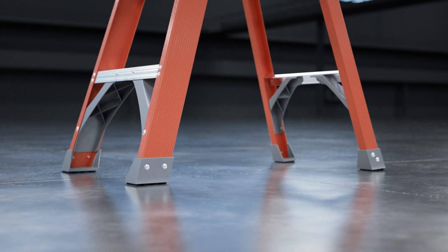 Keller 97 Series Fiberglass Step Ladder 1