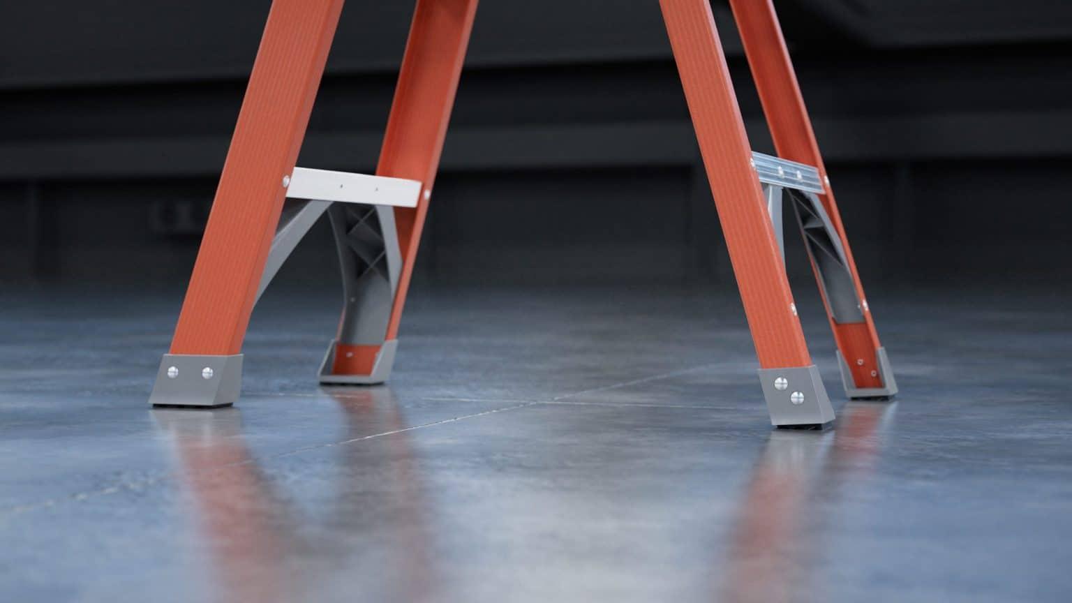 Keller 97 Series Fiberglass Step Ladder 2