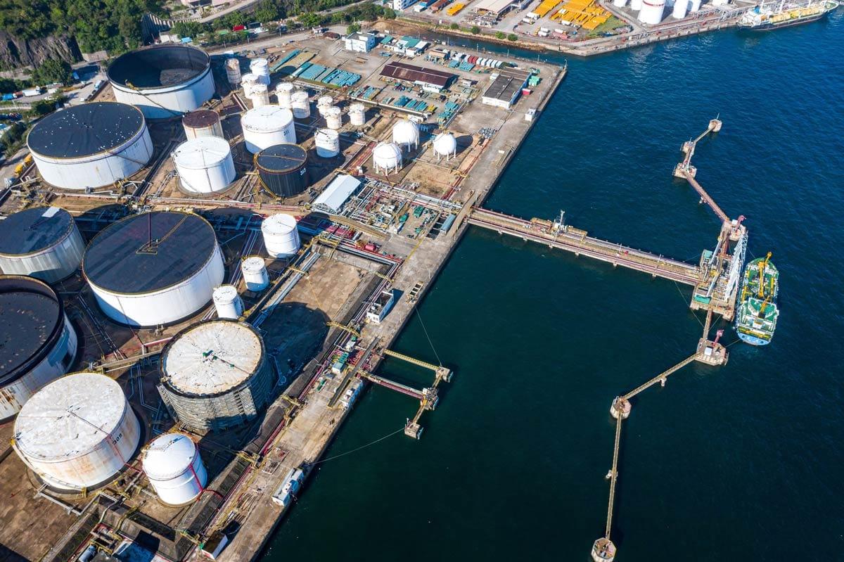 Spike Electric atex oil terminal
