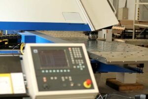 CNC Punching Machine by Spike Electric
