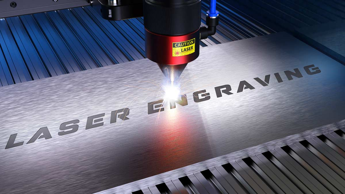 Laser engraving terminal block tags by Spike Electric