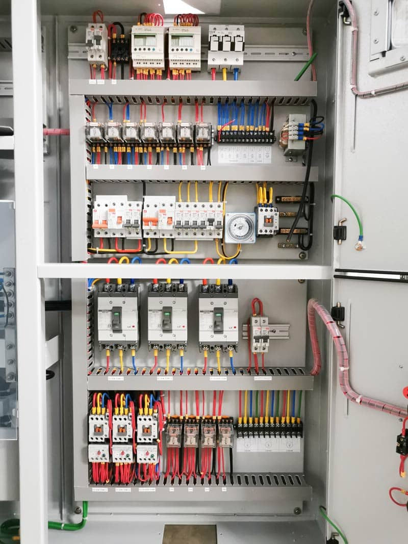 pump control panels produced by spike electric