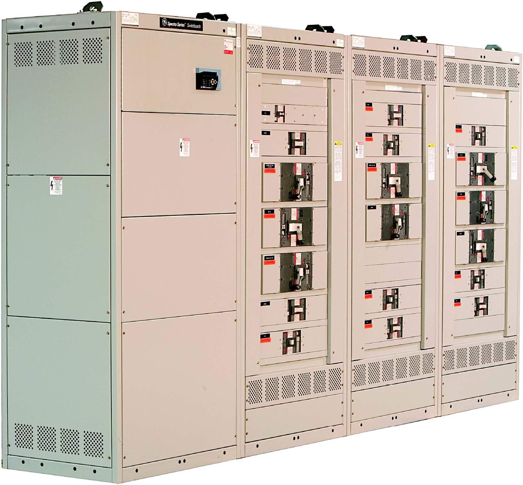 GE Spectra Series Switchboard