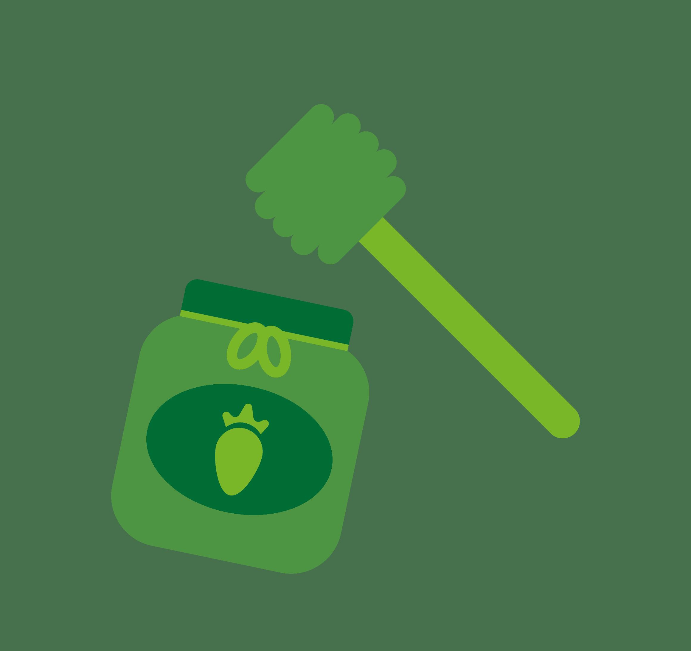 Fruitconserven & Honing