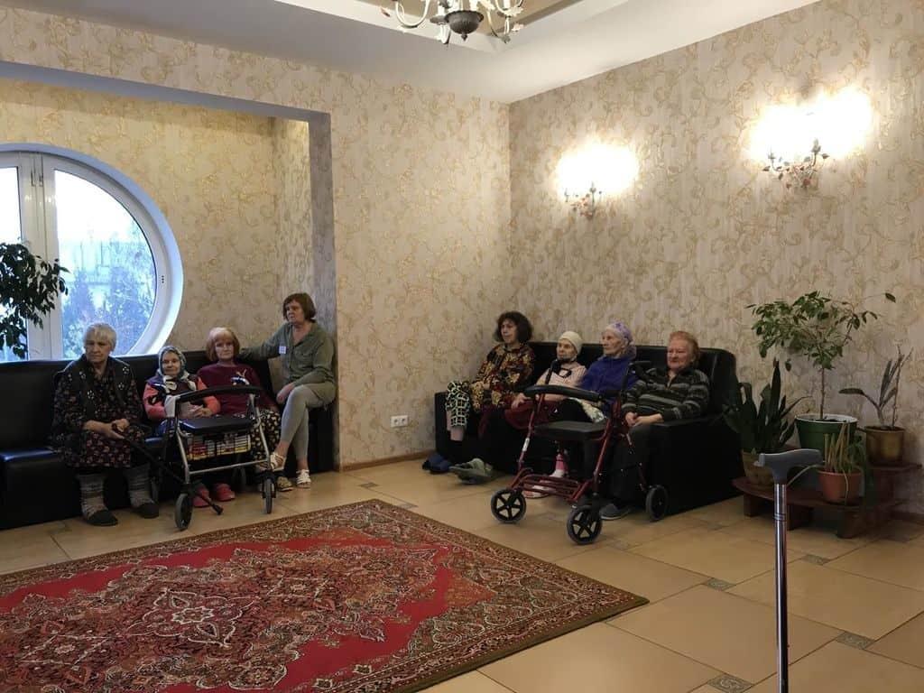 Досуг в доме престарелых в Минске