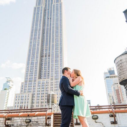 Private Rooftop Elopement