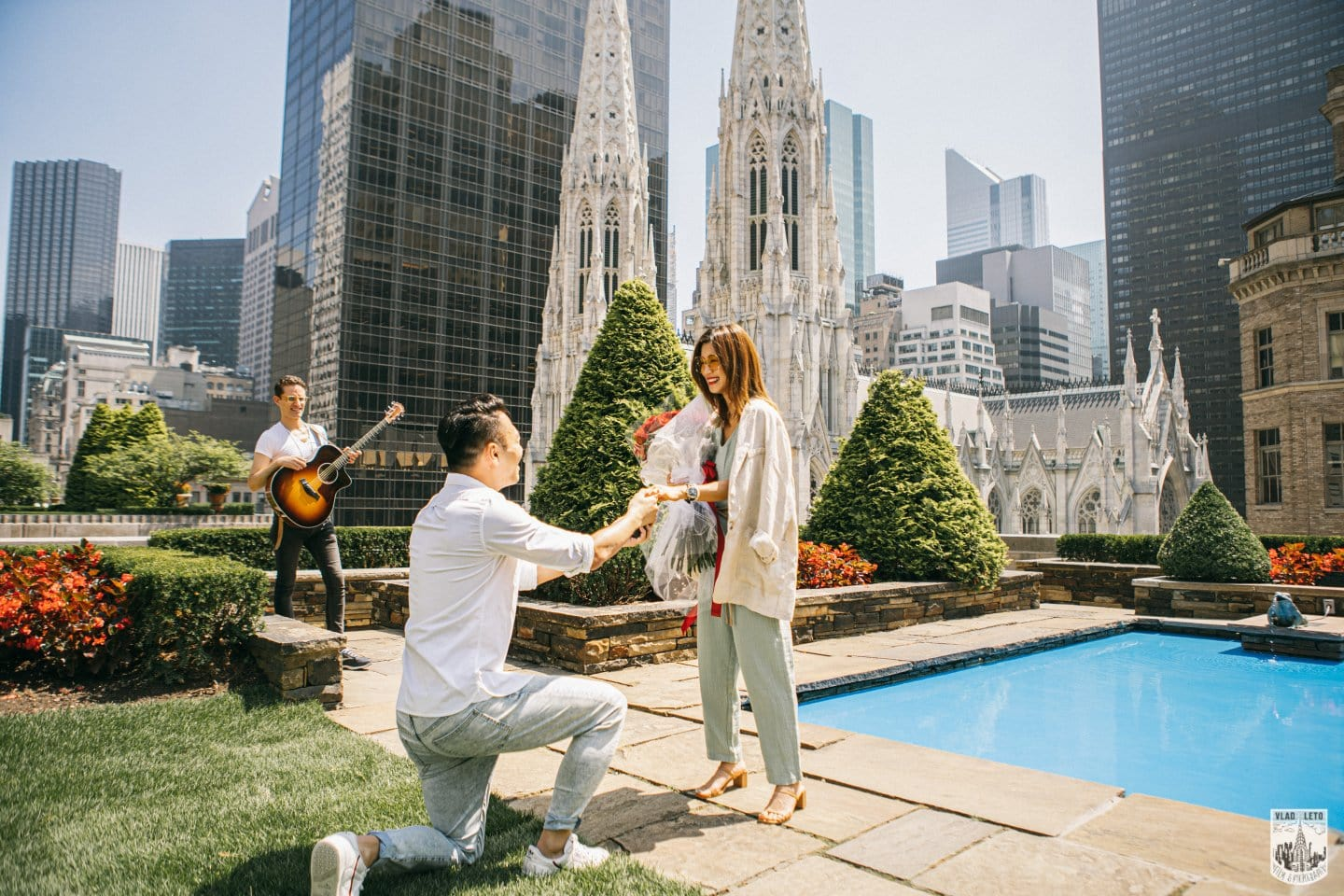 Private Garden Proposal in New York City