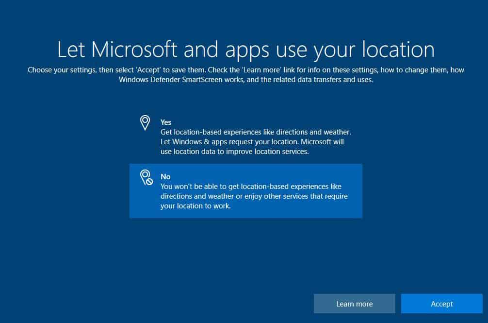 Windows 10 - Special features