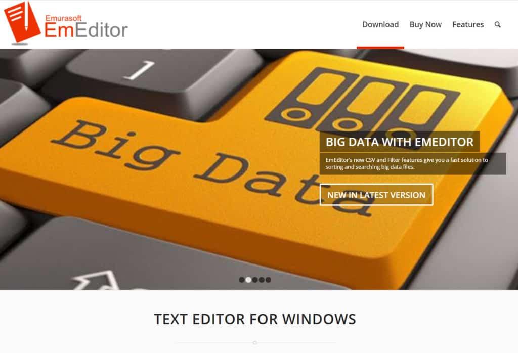 EmEditor - Text editor for Windows