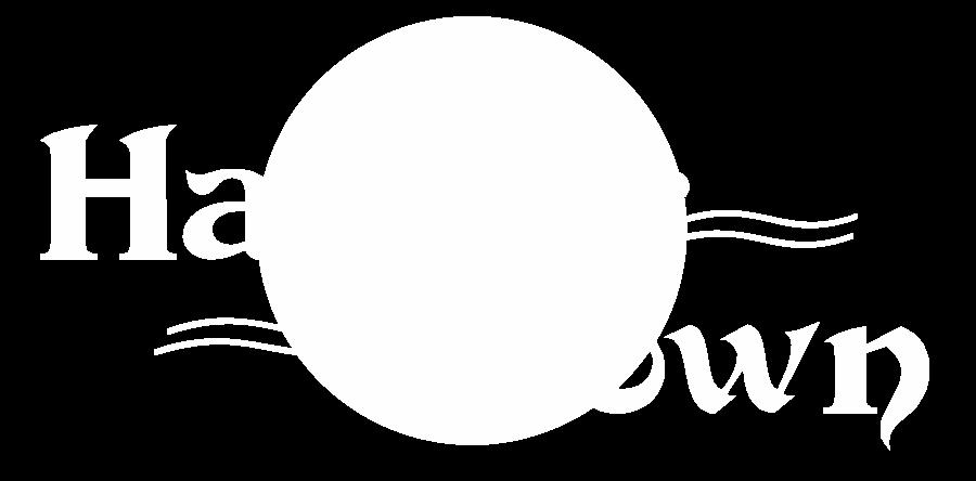 harbor town logo white