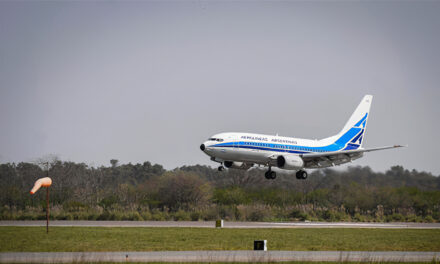 Cuarto vuelo de Aerolineas a Rusia: traerá 400 mil dósis