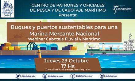 Ciclo del Centro de Patrones: Cabotaje Fluvial y Marítimo