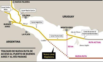 Destacan la habilitación del canal Magdalena como motor del comercio fluvial y marítimo