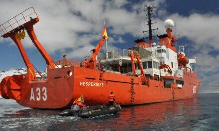 Cancelan definitivamente el viaje del Hespérides a la Antártida por el brote de coronavirus