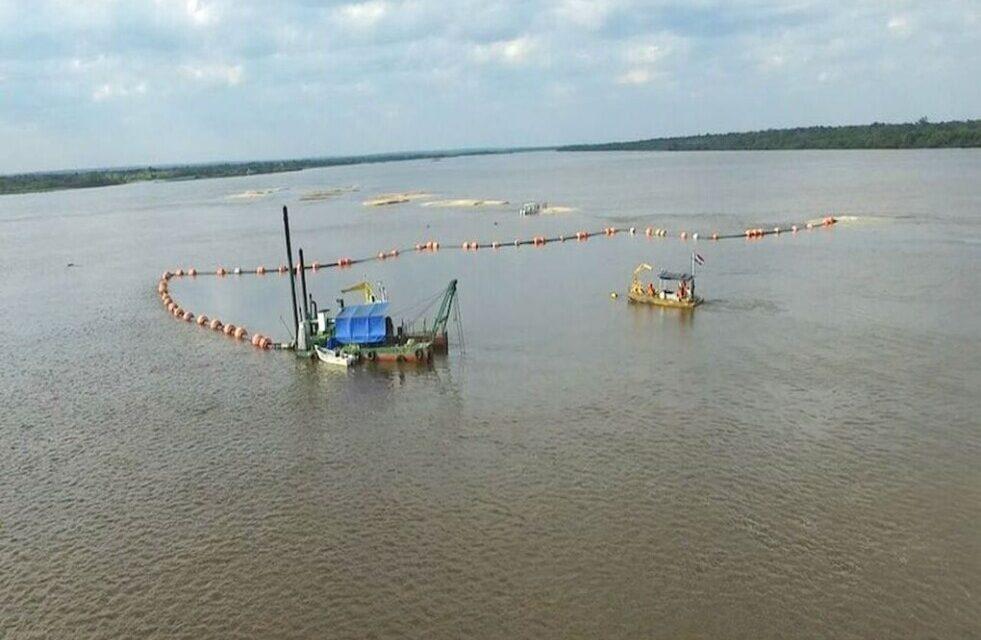 En febrero inicia el dragado del río Paraguay, en tres tramos simultáneos
