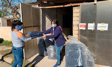 Frente a la pandemia, el programa de RSE de APM Terminals redobla sus esfuerzos para asistir con alimentos y abrigos