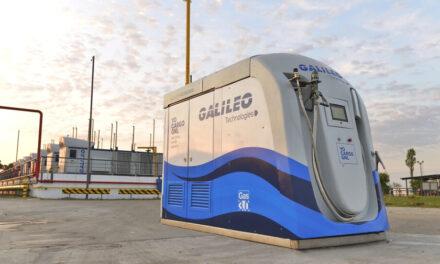 Una solución innovadora para el transporte pesado: Estación Inteligente Galileo Patagonia para la carga de GNL y GNC