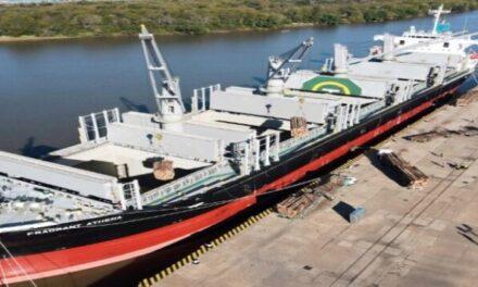 Puertos Ibicuy y Concepción del Uruguay son la punta de lanza de las exportaciones Entrerrianas