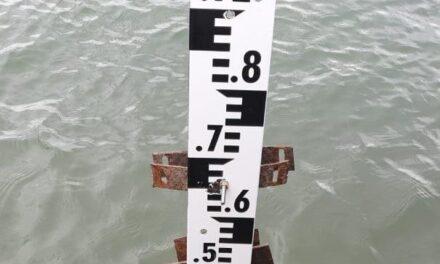 Capacitación para medir la bajante del Paraná