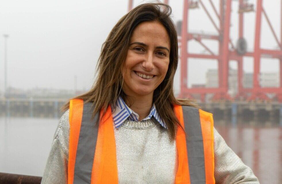 """A un año de Gestión al frente del Puerto de Dock Sud, Carla Monrabal comparte con """"A Buen Puerto"""" su experiencia"""
