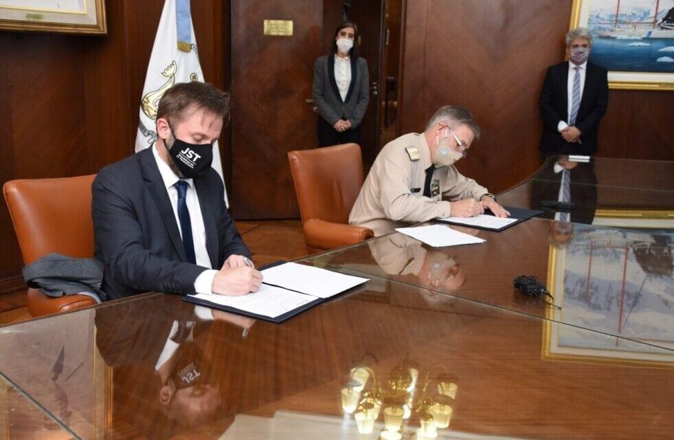 Convenio entre la Prefectura y la Junta de Seguridad en el Transporte