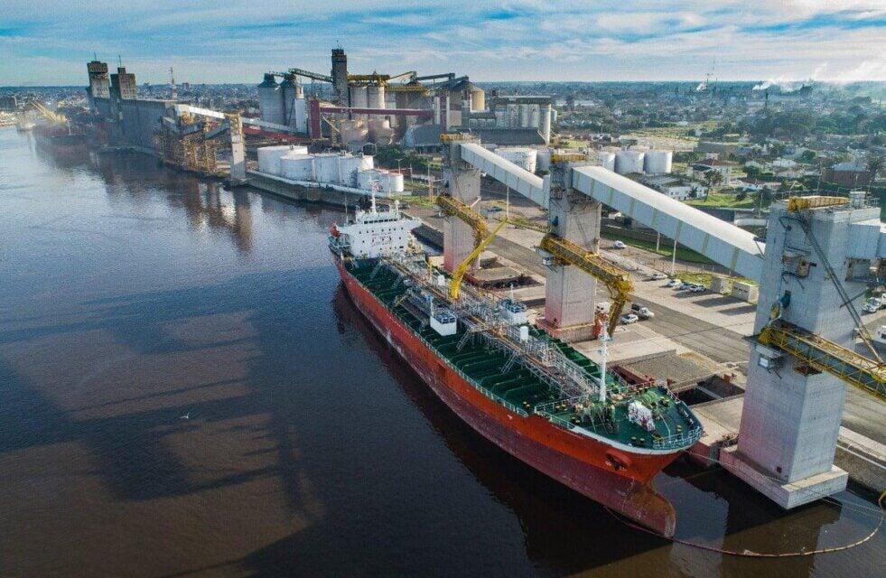 Puerto Bahía Blanca: Se descargaron 366.300 toneladas de granos