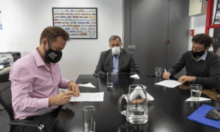 La JST y Copparoni S.A firmaron un convenio de cooperación técnica