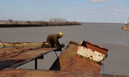 El desguace de embarcaciones recupera espacios portuarios