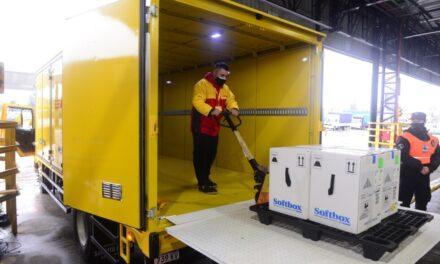 DHL Express trae a la Argentina cargamentos de vacunas contra COVID-19