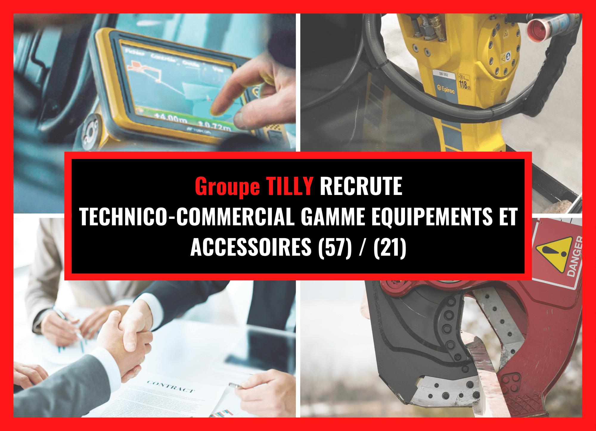 Technico-commerciaux gamme accessoires et équipements (57), (21)