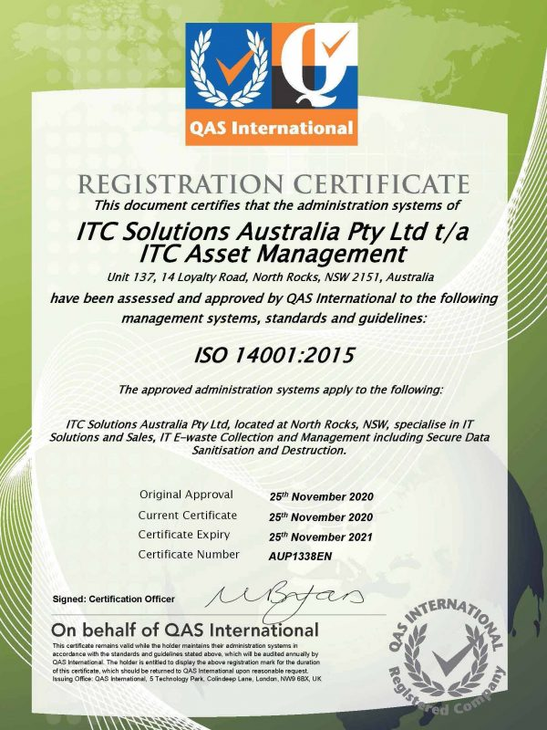 ITC_Asset_Management_sydney_e-waste_ISO14001_certificate_2