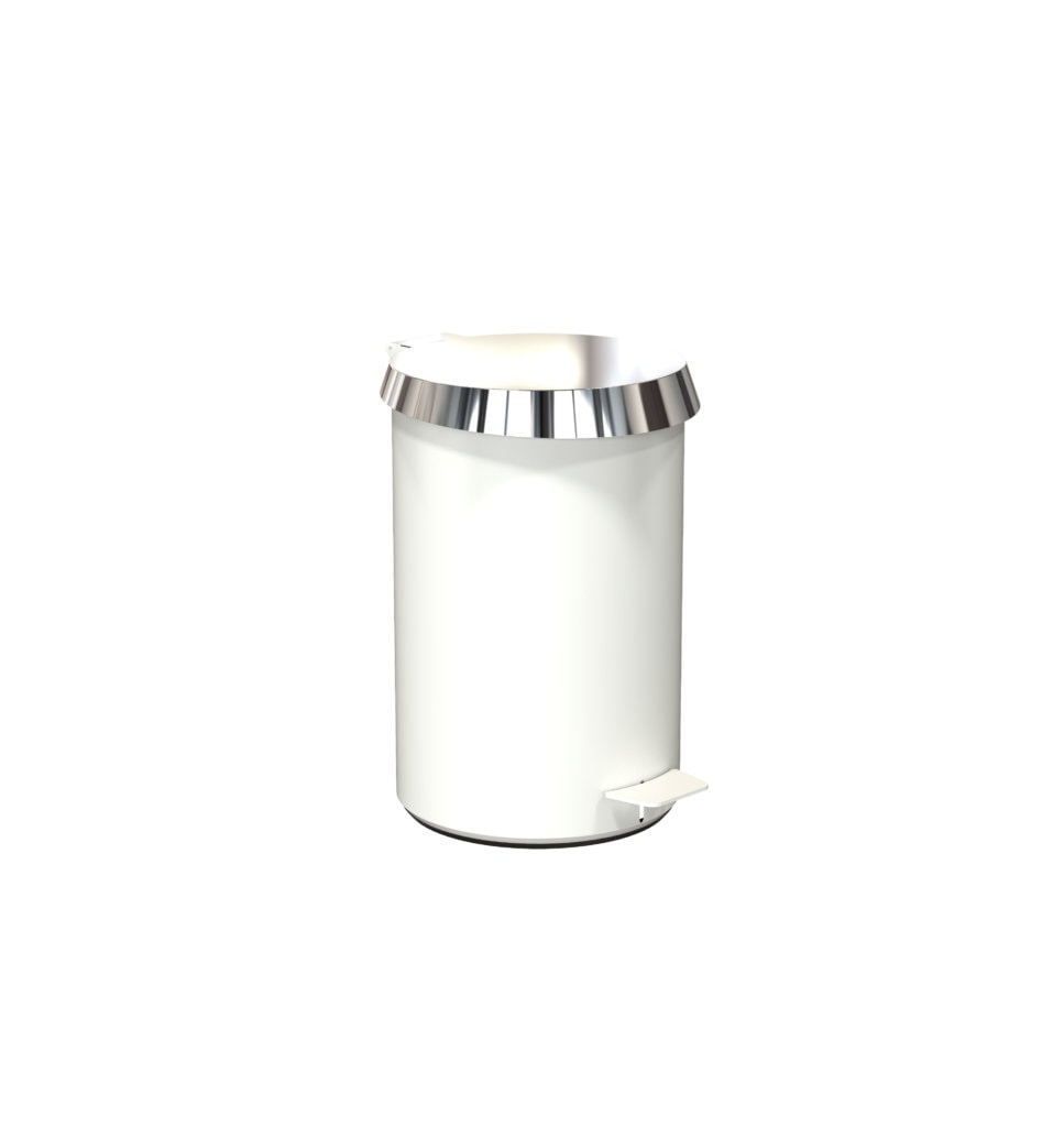N3002 White Polished Stainless