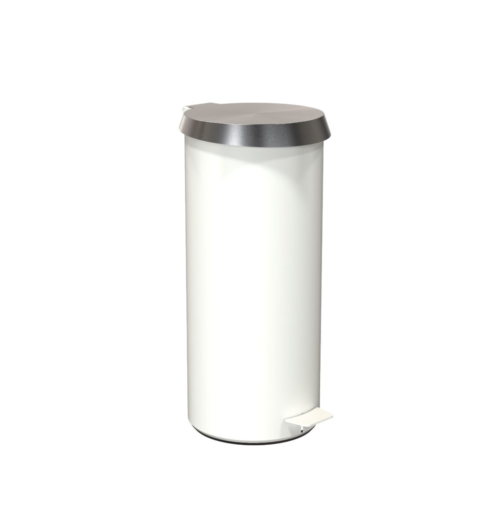 N3003 White Brushed Stainless
