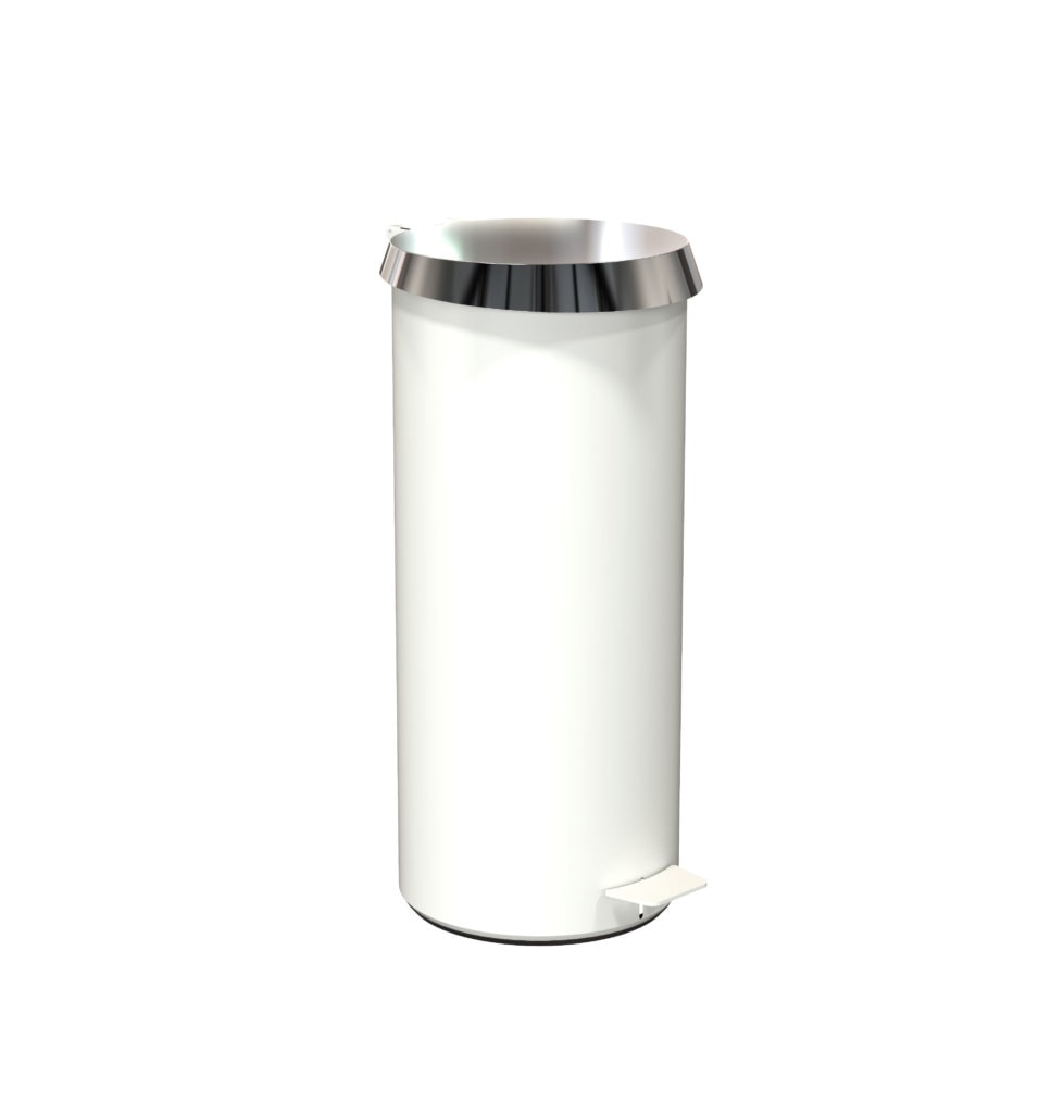 N3003 White Polished Stainless