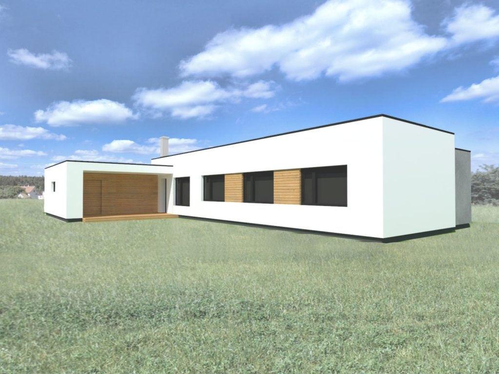 Novostavba rodinného domu Bukovinka