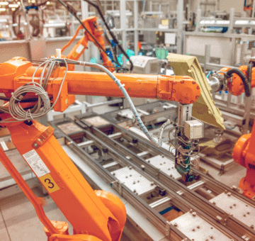 5G positioning smart factory