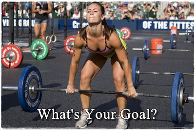 What's your strength goal?