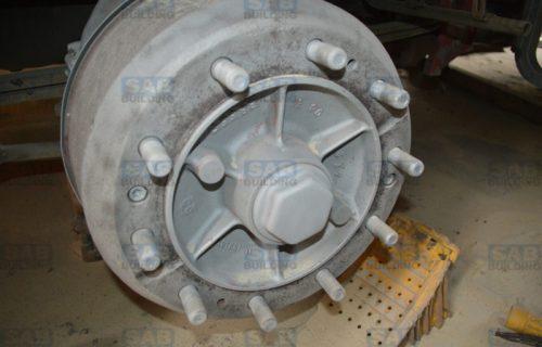 Пескоструй грузовых дисков