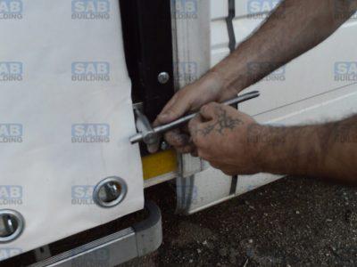 Борт штора для грузовых автомобилей