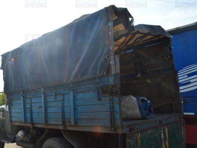 Старый каркас грузовика