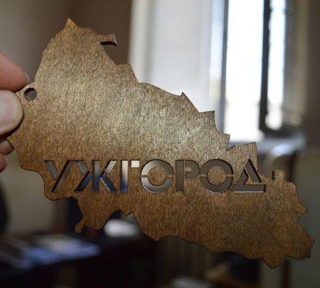 Карта Украины из дерева цена
