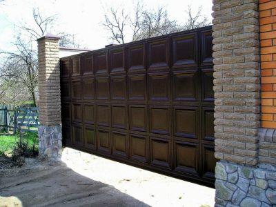 ворота филенка