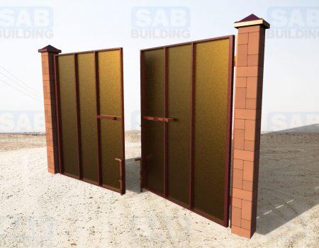 Ворота для дачи распашные