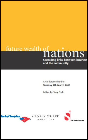 The Future Wealth of Nations: Spreading links between business and the community