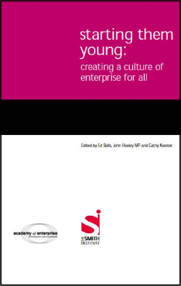Starting Them Young: Creating a Culture of Enterprise for All