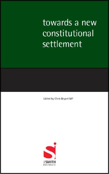 Towards a New Constitutional Settlement