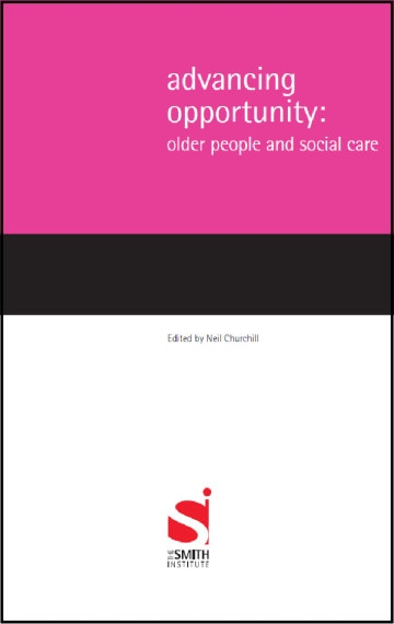 Advancing Opportunity: Older People & Social Care